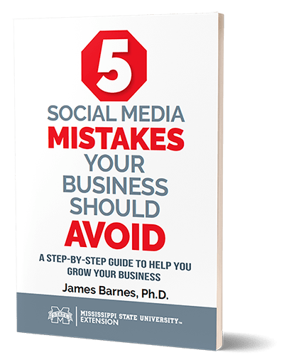 Cover of 5 Social Media Mistakes Book