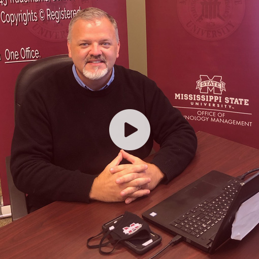 James Barnes on the set of Website Makeover Made Simple